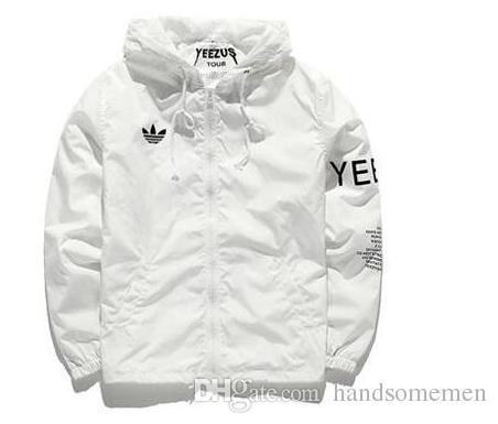 pretty nice fdc4f 4fe6d Harajuku Yeezus Tour Jacket Men Bomber Jacket Windbreaker Hip Hop Sport  Anorak Season 4 Y-3 Jackets Men Clothing Jacket Black Men s Clothing Online  with ...