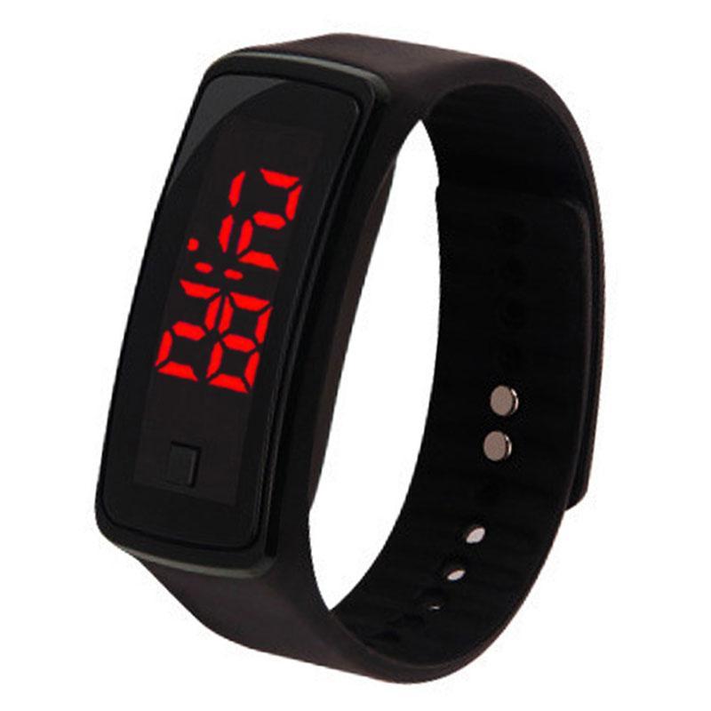 095c02e8922 Relógio esportivo de Silicone Digital À Prova D  Água Crianças Relógio  Inteligente Das Senhoras de Fitness LED Relógios Pulseira Exercício Ao Ar  Livre ...