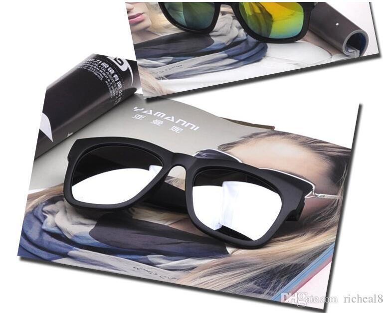 New Cool Sunglasses Eye Club Brand Designer Sun Glasses Bands Gafas de sol for Men Women glass Lens