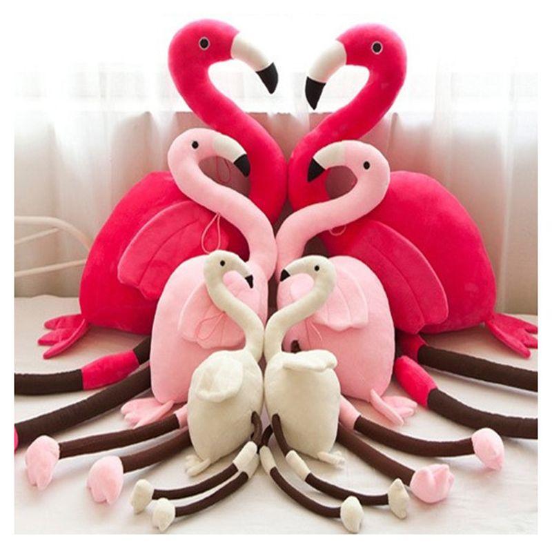 Compre Bebê Flamingo Brinquedos De Pelúcia Crianças Bonitinho Bolster  Recheado PP Algodão Dos Desenhos Animados Boneca Meninas Inovar Presentes  Engraçados ... d2145ecd88e4f