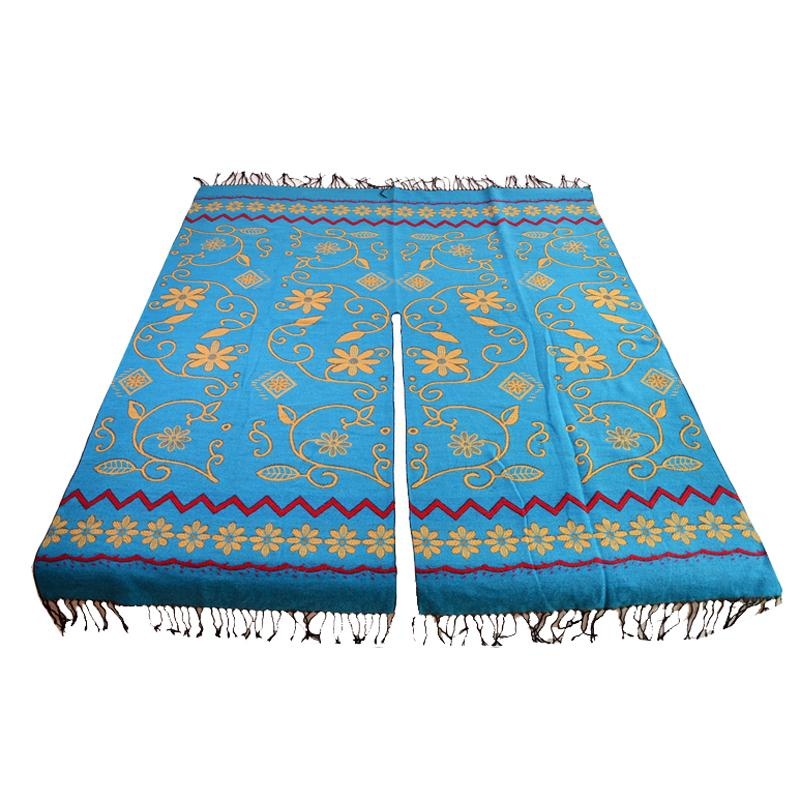 Ladies Fashion New style Winter scarf Spain Big Pashmina Stole Ethnic Long scarves crochet shawl poncho for Women