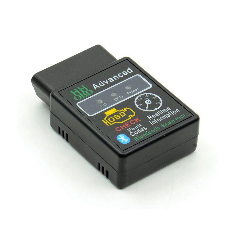 HH OBD ELM327 Araba Bluetooth OBD2 Tarayıcı Son V2.1 Teşhis Aracı Gelişmiş OBDII Otomatik Kod Okuyucu