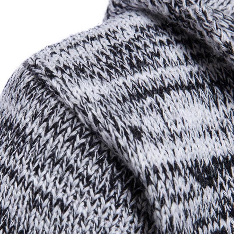 2017 herbst Männer Pullover Mode Koreanischen Stil Langarm Männlichen Strickjacke Slim fit Casual Winter Kapuzenpullover