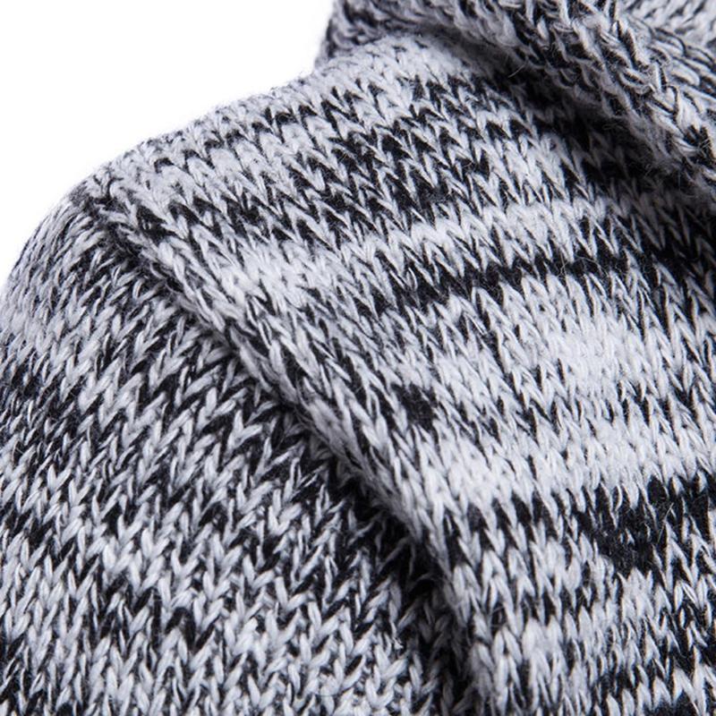 2017 Otoño Suéter de Los Hombres de Moda Estilo Coreano de Manga Larga Suéter de Rebeca Masculino Slim fit Casual Invierno Suéter Con Capucha