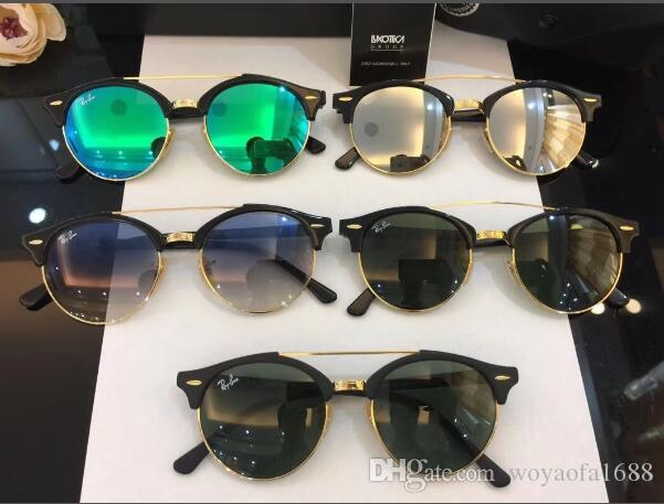 3c4a361c275 2018 New Men s Women s Fashion Metal Sunglasses Round Personality ...