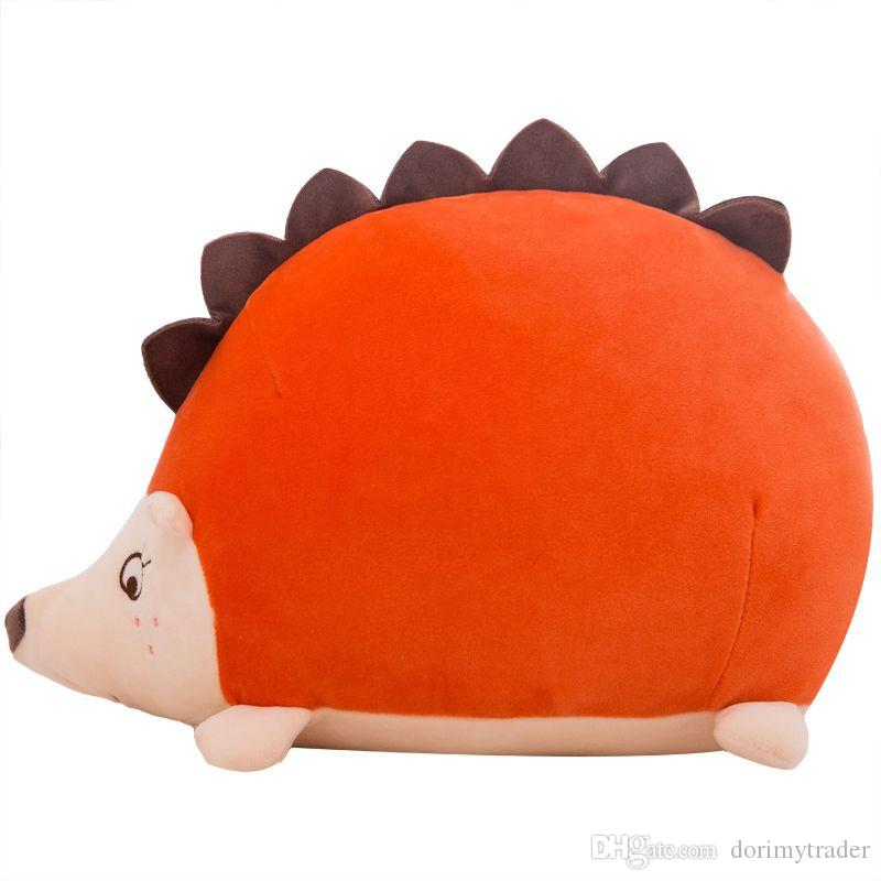 Dorimytrader Lovely Soft Animal Hedgehog Stuffed Pillow Big Plush Anime Hedgehogs Toy Cartoon Doll for Kids Gift 24inch 60cm DY61998