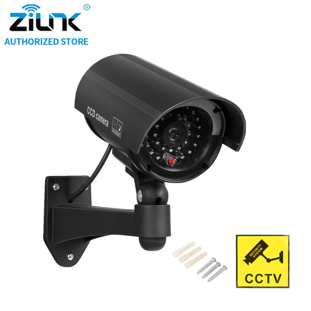 Video Surveillance Fake Ip Camera Wifi Dummy Camera Waterproof Home Security Video Surveillance Cctv Camera Led Flash Light Fake Camera Outdoor Ir Consumers First