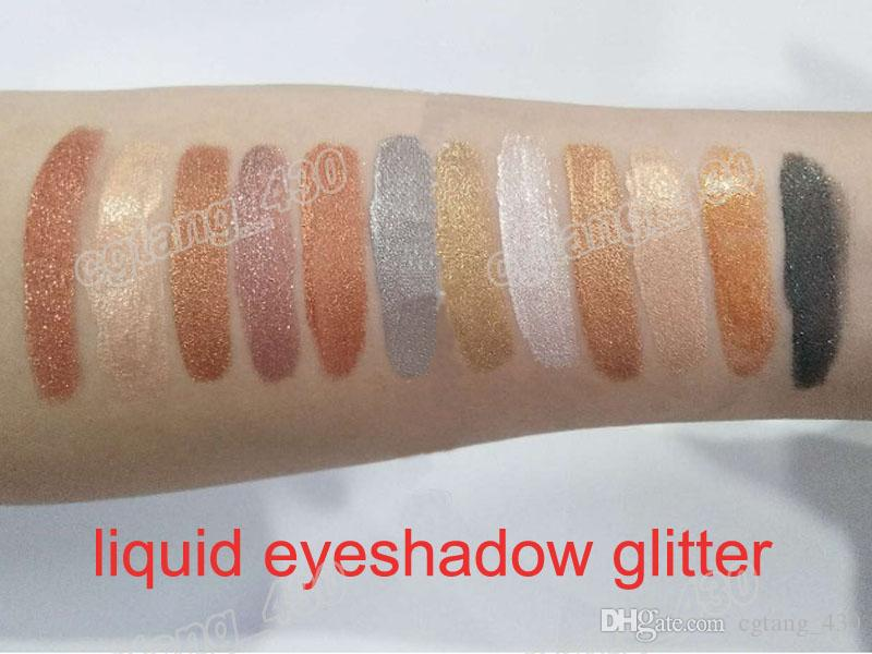 Beauty Liquid Eyeshadow Glitter & Multi-Concealer Kit Glitter with Concealer Perfect Quality DHL