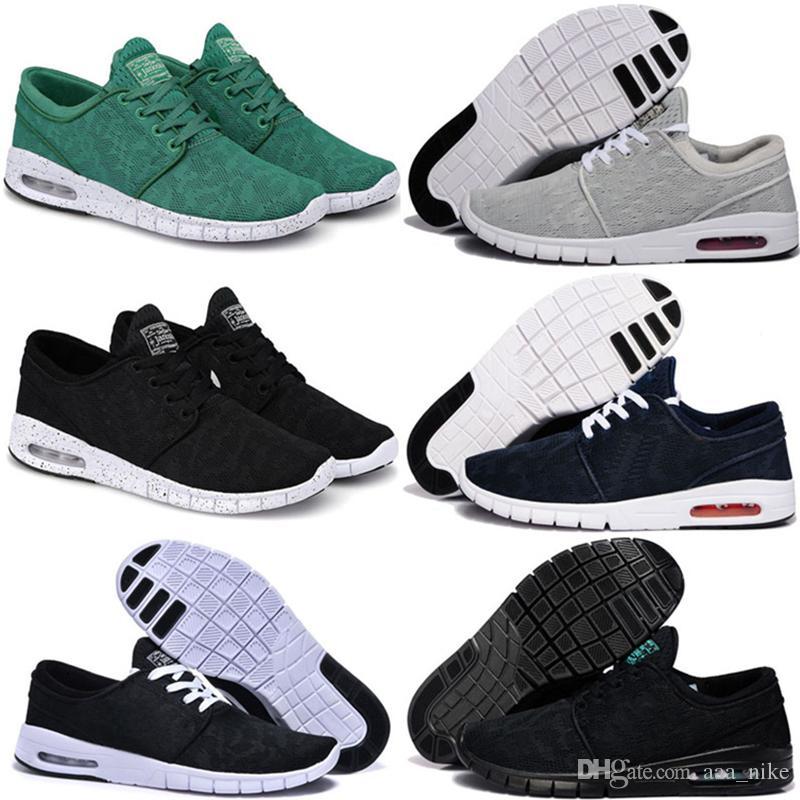 separation shoes 3d2c8 4a39e Acheter Nike SB Best Running Shoes Nike Discount ShoeGrande Remise Nouvelle  Arrivée Hommes Chaussures De Course Avec Tag Nouvelle Mode SB Stefan Janoski  ...