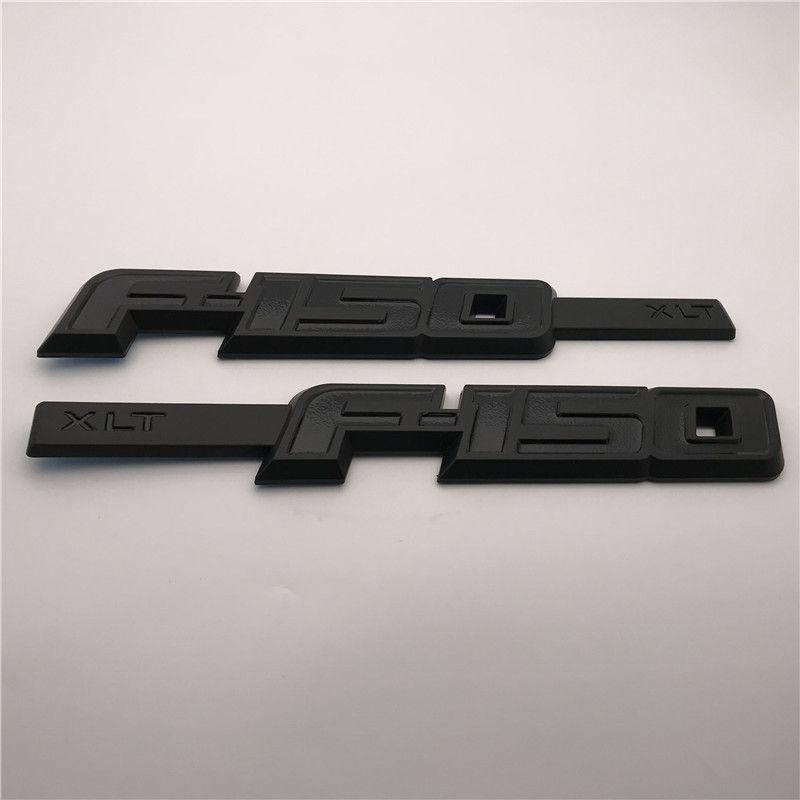 Пользовательские 3D ABS цвет F150 TXL боковая дверь крыло знак эмблемы стикер табличка логотип 2 шт. / пара