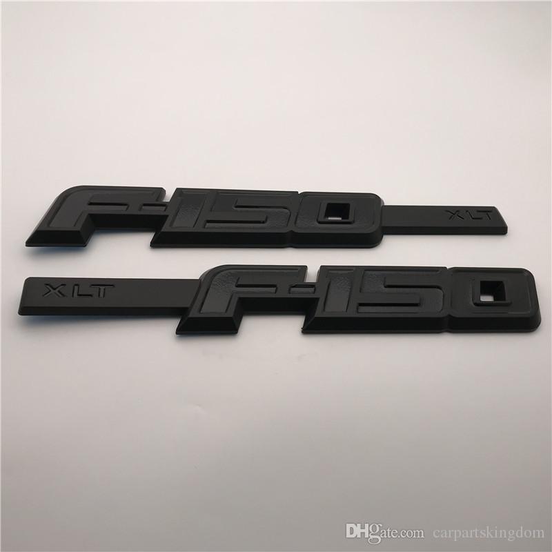 Custom 3D ABS Color F150 TXL side door fender badge emblems sticker nameplate Logo /Pair