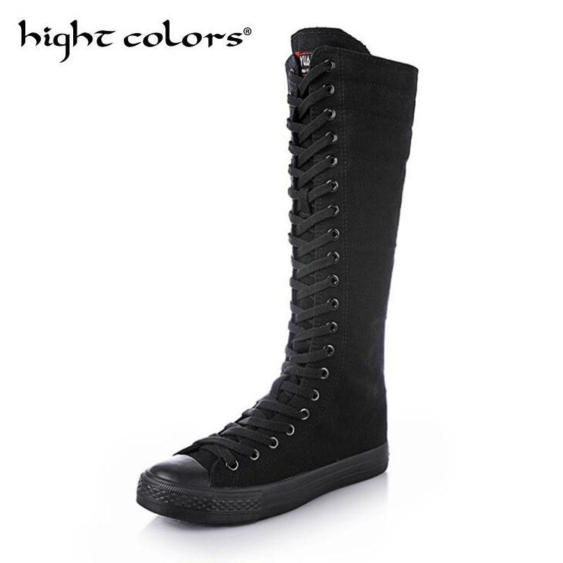 Casuales Rodilla Botas Baile Altas Zapatos Compre De Goma p0Bf1xdqw