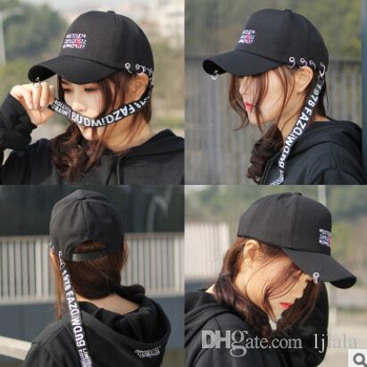 Hat Korean Baseball Cap Men And Women With The Same Paragraph Fashion  Ribbon Embroidery Cap Outdoor Cap Accessories Brixton Hats Trucker Cap From  Ljlala 1d2ff471183