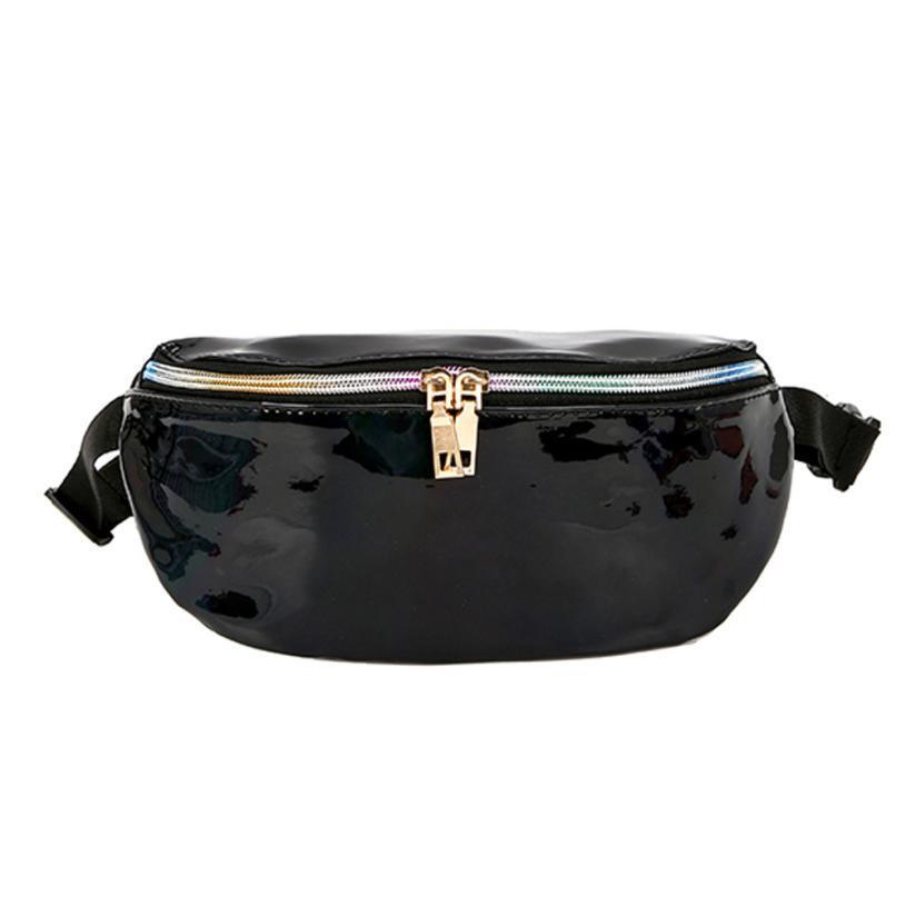 5c640b2e16 Waist Bag Chest Bag Women Shouler Fanny Pack Money Belt Handbags ...