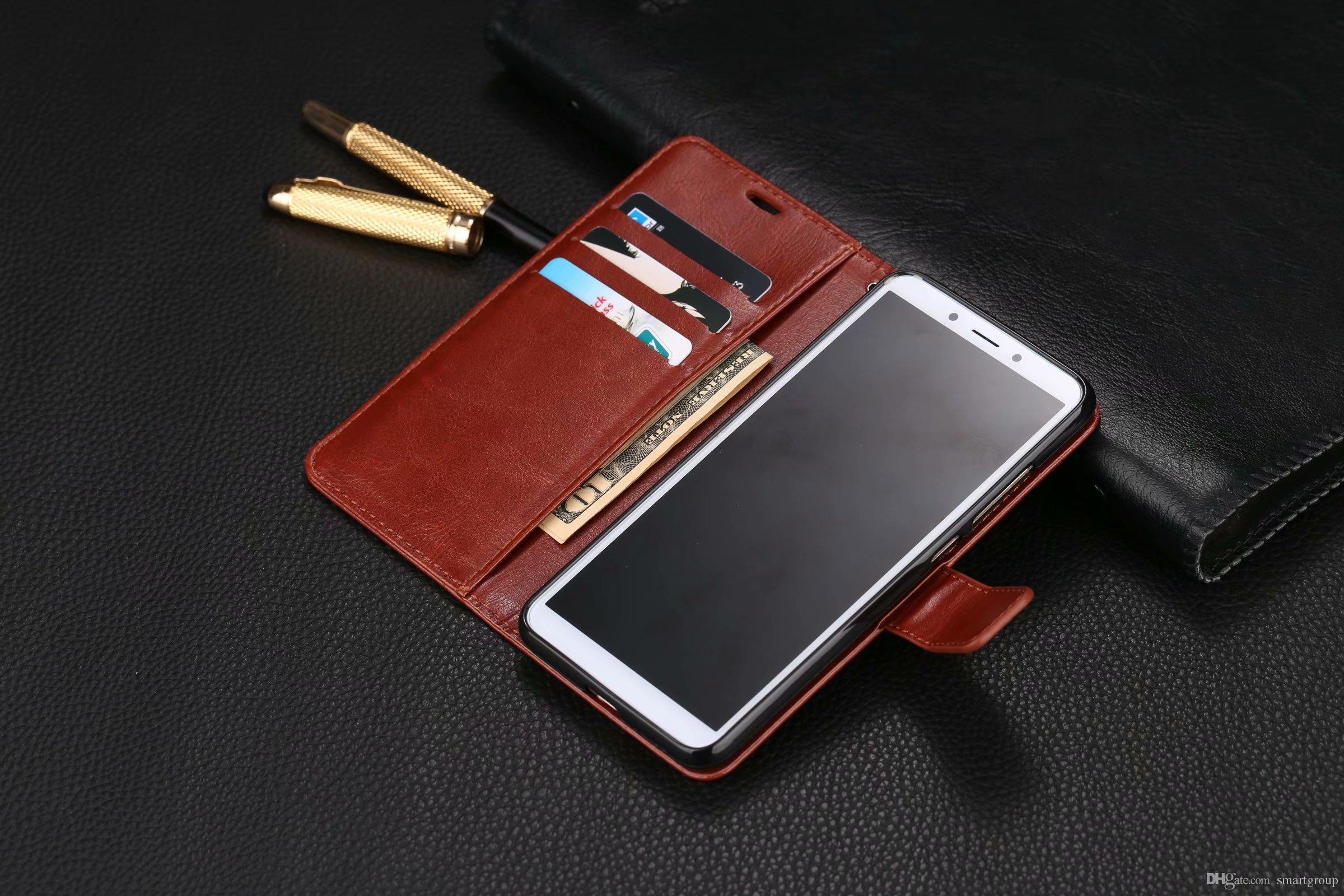 7b82f4dbf For Xiaomi Redmi 6A Case Stand Purse Flip Cover Luxury Original Colorful  Cute Ultra Thin Leather Case For Xiaomi Redmi 6A Cell Phone Case Covers  Uncommon ...