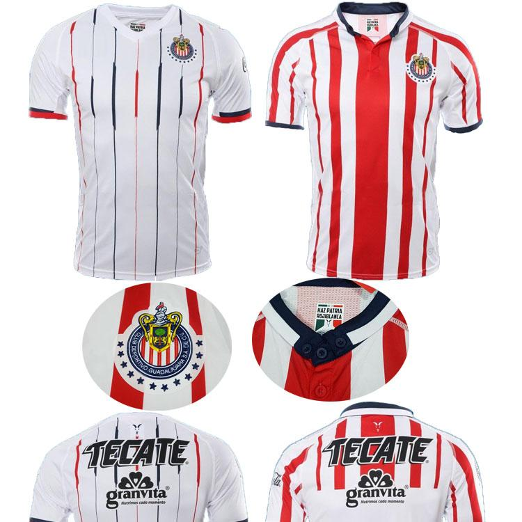 cfbe9c7a2 2019 New Arrived 2018 MEXICO Club Classic Chivas De Guadalajara Home Soccer  Jersey 2019 Authentic Champion Camiseta De Futbol Football Shirts From ...