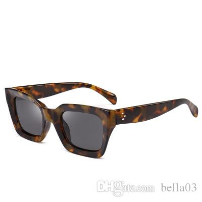 3de9778b1f Brand Plastic Retro Square Polarized Sunglasses Men Fashion UV400 ...