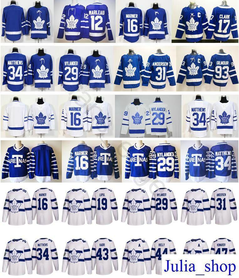 ce6551cd2 2018 Stadium Series Toronto Maple Leafs 16 Mitchell Marner 29 ...