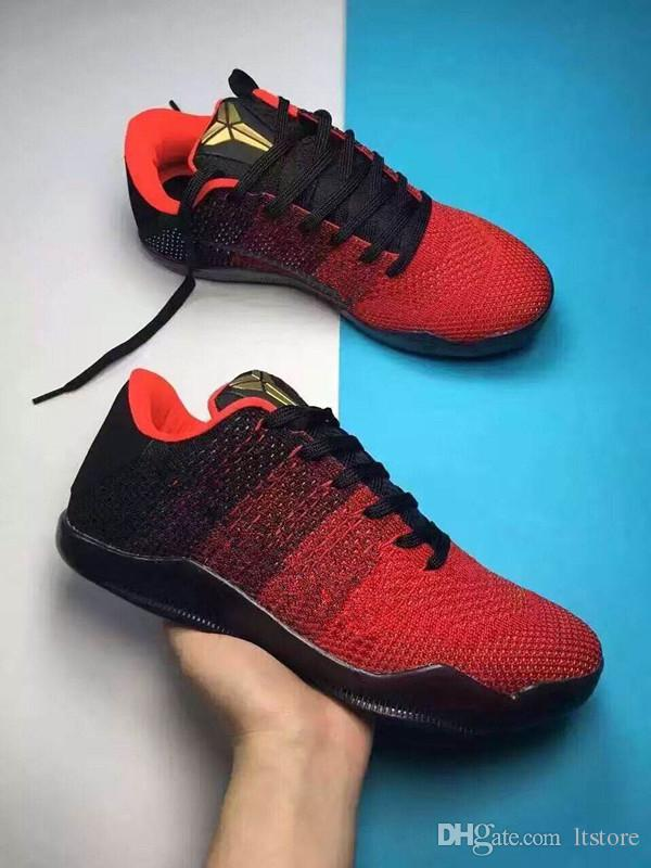 22cd9d38bcd 2019 High Quality Kobe 11 Elite Men Basketball Shoes Kobe 11 Red Horse Oreo  Sneakers KB 11 11S XI Sports Sneakers With Shoes Box From Ltstore