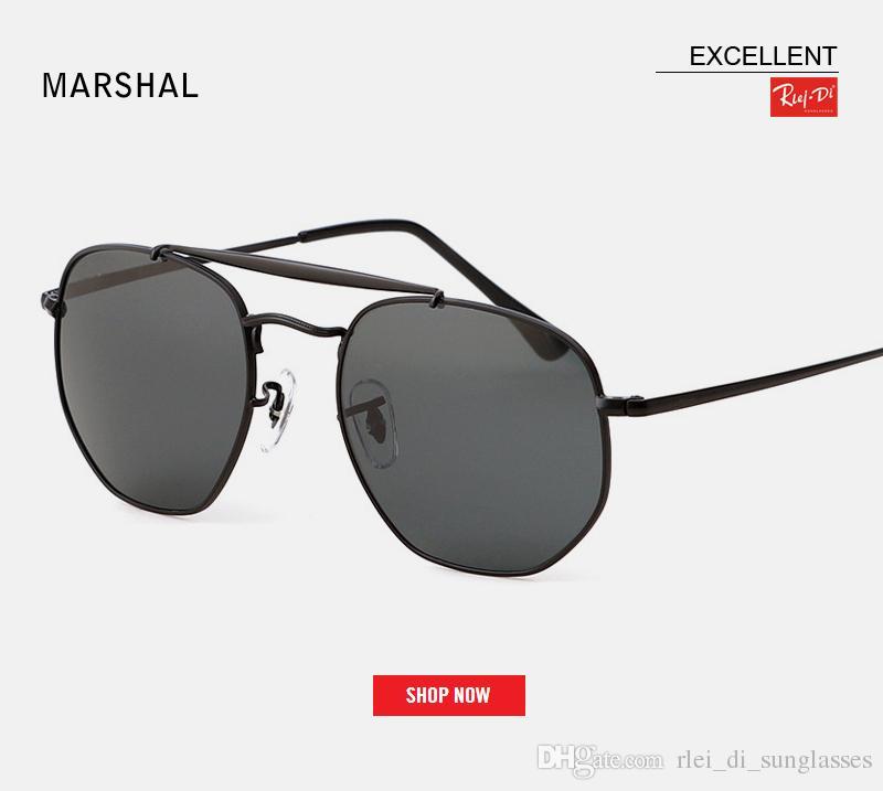 5984f3cc0dea2 Compre 2019 Top New 3648 Óculos De Sol Hexagonal Mulheres Homens Uv400  Lente De Vidro Flash Espelho Preto Redondo Desinger Óculos De Sol Oculos De  Sol Gafas ...