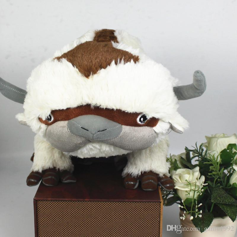 Cartoon Comic Series Doll Avatar The Last Airbender Appa Plush Brinquedos  Kawaii Cotton Stuffed Animals Cow Kids Gift Toy 35 5fh YY