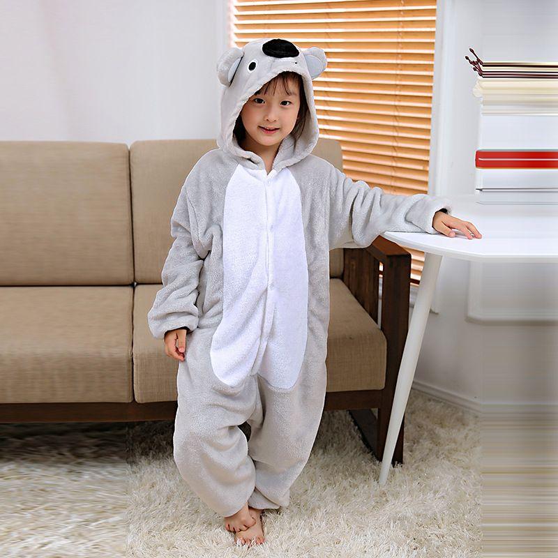 9b0624166 Mioigee 2018 Autumn Winter Kigurumi Pajamas For Children Kids Pajama ...