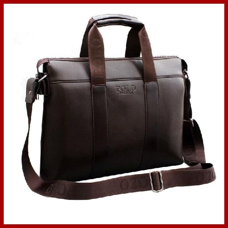6c48af61d0 ! New 2015 Famous Brand Designer POLO Bag Genuine Leather Bag Men Messenger  Bags Computer Fashion Men s Travel Bags Hobo Bags Designer Bags From  Croftte