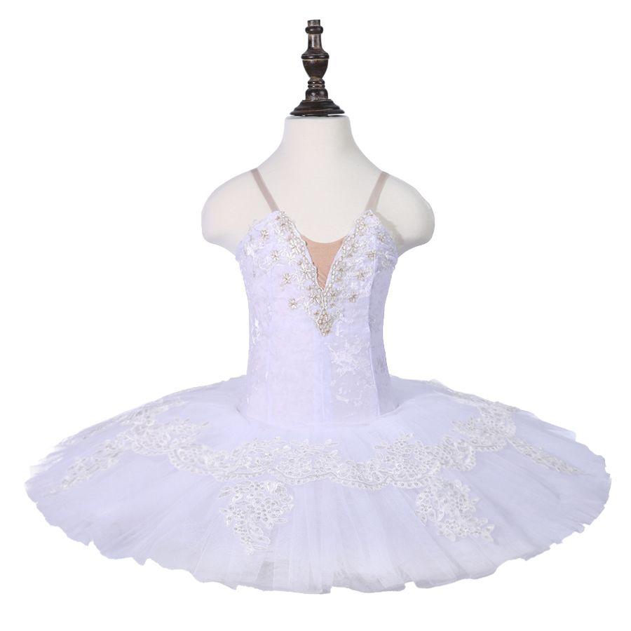 1cc9456e8b 2019 Professional White Swan Lake Ballet Tutu Costume Girls Children  Ballerina Dress Kids Ballet Dress Dancewear Dance Dress From Dhgateballet,  ...