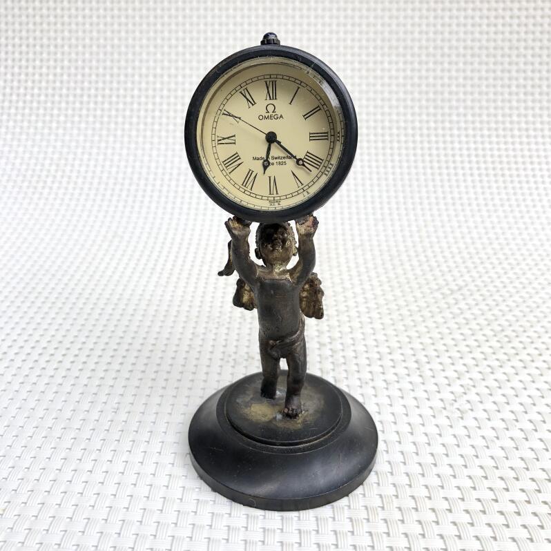 Großhandel Retro Nostalgische Reine Kupfer Messing Mechanische Uhren ...