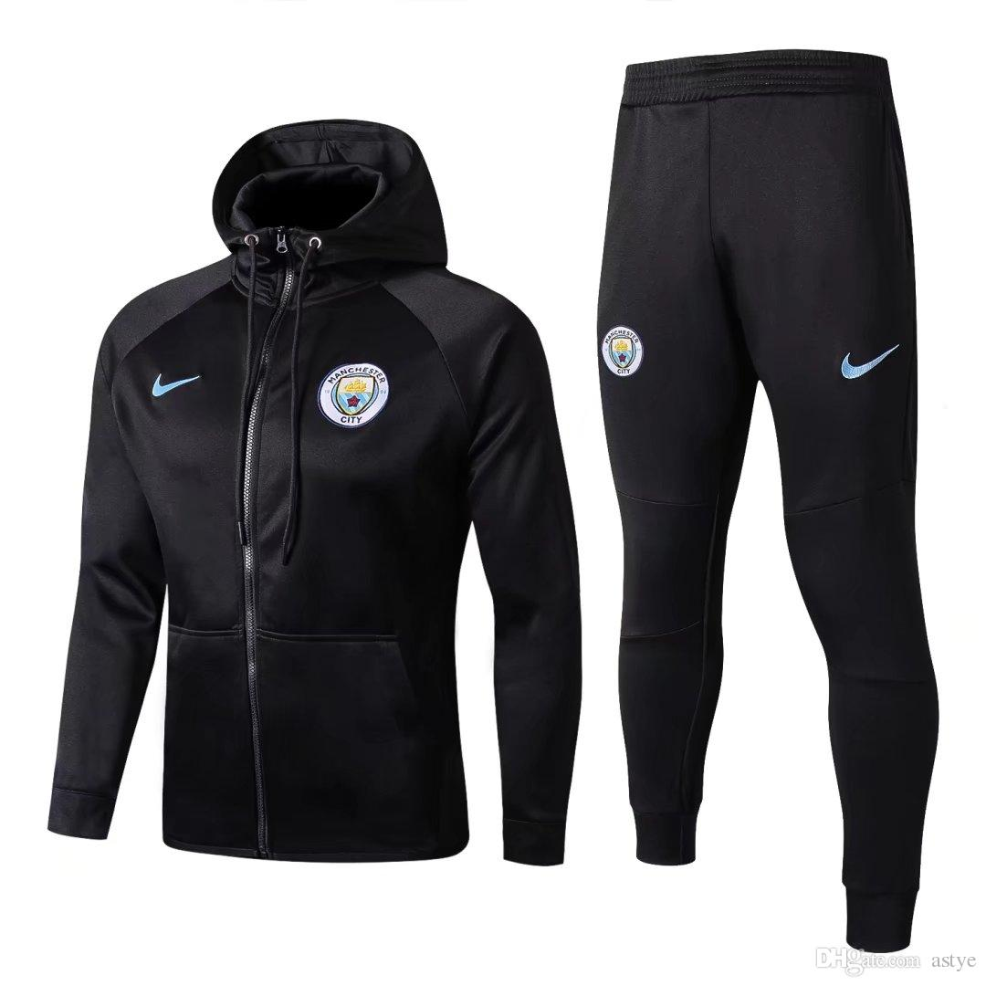 d85bb414d21 Acheter MANCHESTER CITY Real Madrid Juventu Bayern SURVETEMENT DE LA VESTE  ENTRAÎNEMENT MAILLOT DE FOOT ENTRAÎNEMENT G.JESUS SURVETEMENT De Football  De ...
