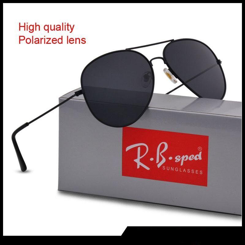 d72f515aa9b0 Luxury Brand Sunglasses For Men Women Designer Mirror Classic Pilot  Polarized Sun Glasses UV400 Driving Glasses With Brown Cases Sunglasses  Case Knockaround ...