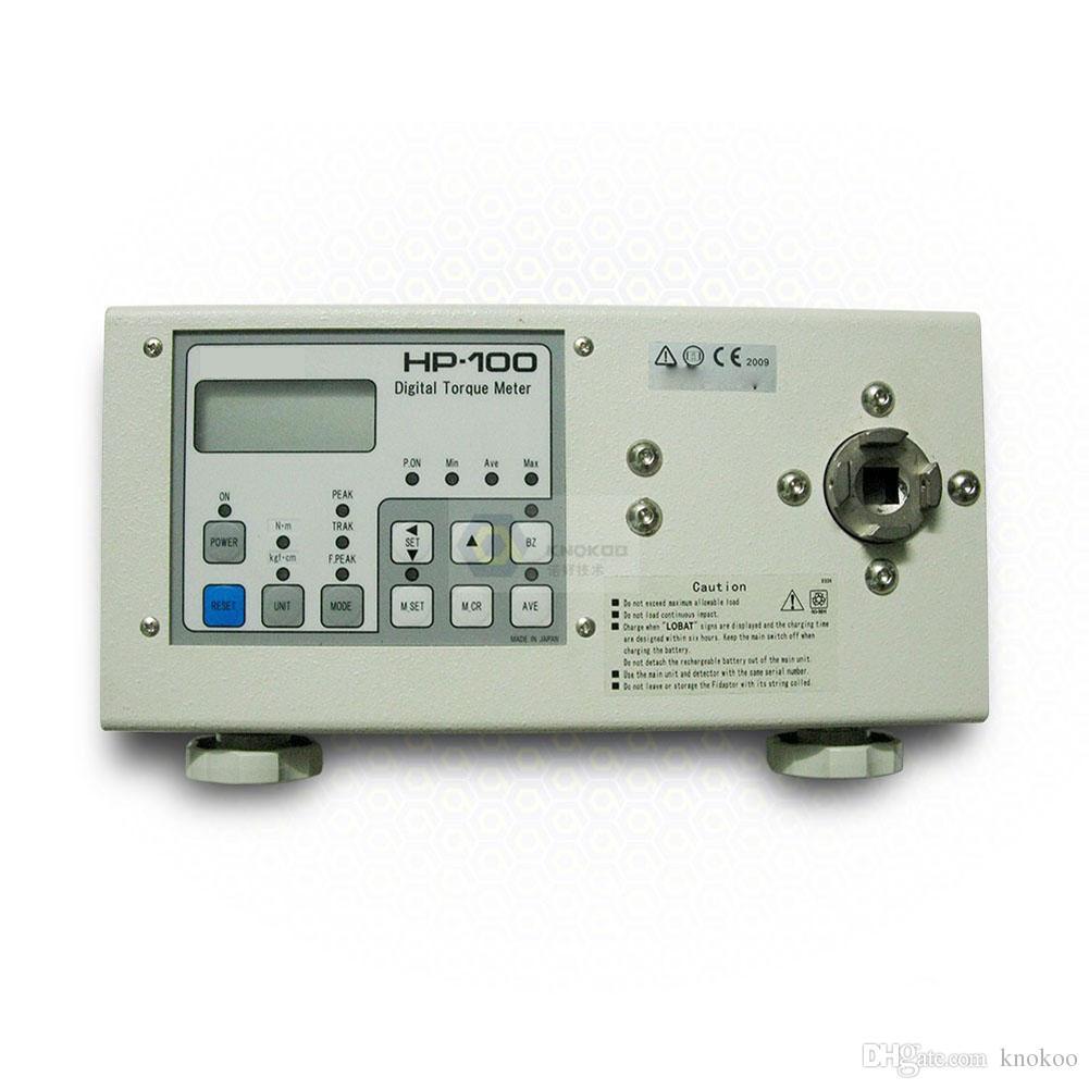 Knokoo Высокое качество Новый цифровой Отвертка Torque Meter HP-100 Ключ измерения тестер Большой дисплей Мембранный переключатель