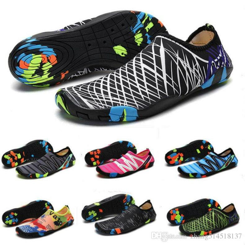 d5d1f2a0af56 2019 2018 Men Outdoor Sneaker Shoes For Swimming Pool Shoes Women ...