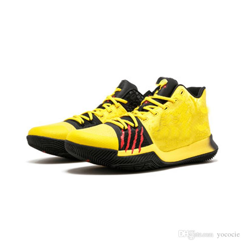 cc25e2a6f764 2018 Mamba Mentality Bruce Lee Men Basketball Shoes Sneakers Yellow Black  Cool Basketball Running Shoes XZ180 Best Basketball Shoes Womens Basketball  Shoes ...