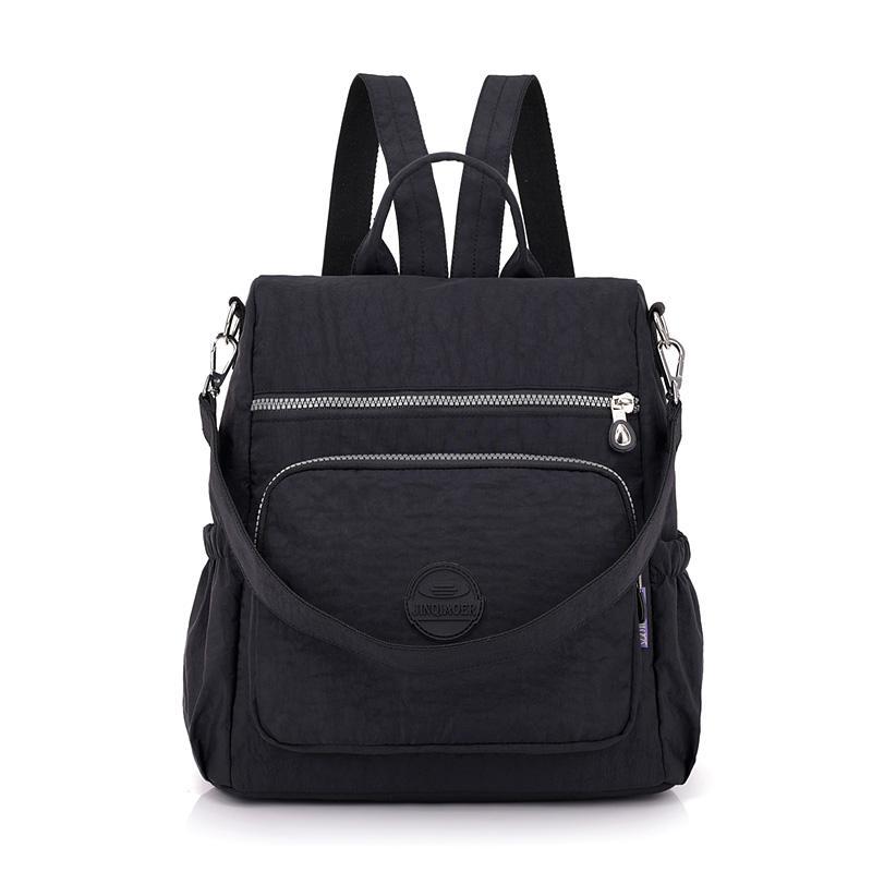 0c0a3bd2bf Fashion Women Waterproof Nylon Backpack Korean Style Designers Shoulder  School Bag Kipled Style Leisure Rucksack For Girls Bookbags Backpack Purse  From ...