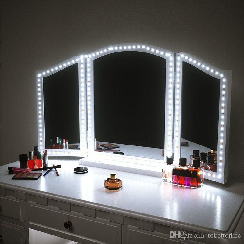 Led Vanity Mirror Lights Led Strip Kit 4m 240 Leds Makeup