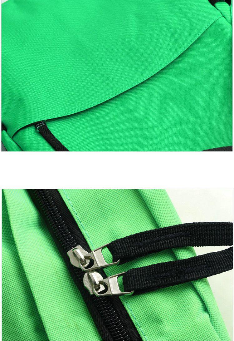 Travel Frog Rucksack Heißer Verkauf Tagesrucksack Grüne Schultasche Spielpacksack Qualitätsrucksack Sport Schultasche Outdoor Tagesrucksack