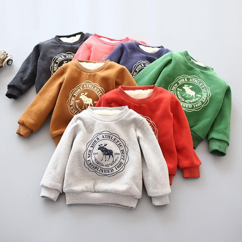 88b178383 2019 BibiCola Baby Boys Girls Hoodies Clothes Children Winter Thick ...
