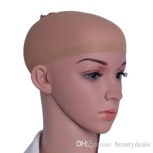 cheveux Mesh perruque Cap Nets perruque de cheveux Liner Hairnet Snood Glueless Dôme Cap perruque élastique extensible cheveux net