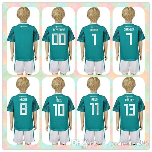 4e19a6c83 Customized Uniforms Kit Youth Kids 2018 World Cup Country Jersey ...