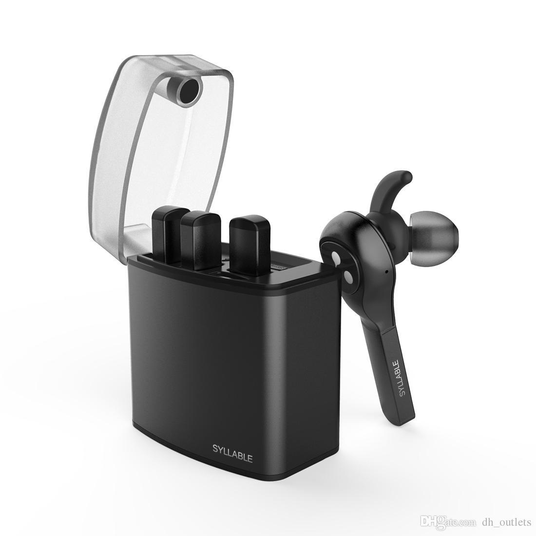Слог D9X TWS съемная батарея Bluetooth наушники портативный легче зарядка чехол Bluetooth-гарнитура беспроводные наушники для телефона
