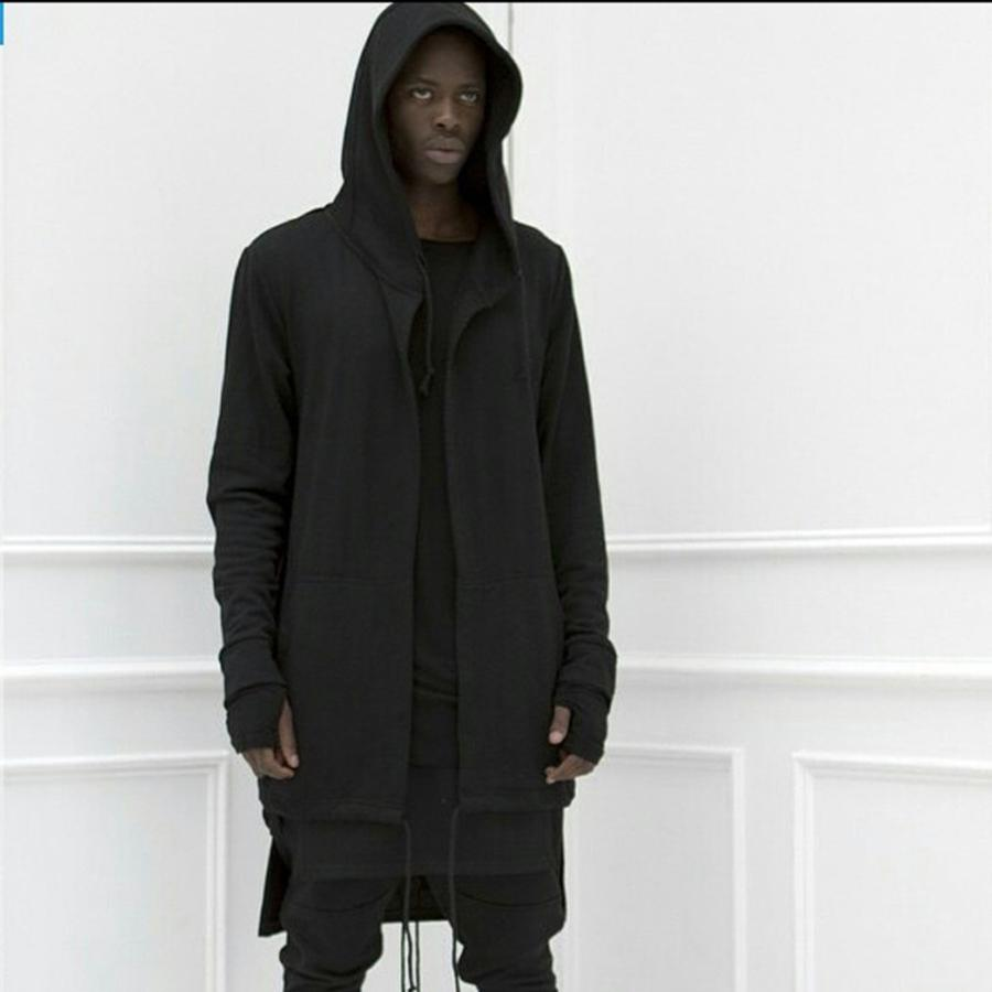 Oversize mantel schwarz herren