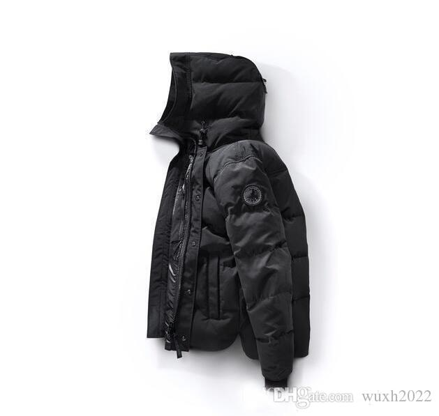 hot sale new Canada New Arrival sale men's Down parka Black Navy Gray Jacket Winter Coat /Parka Fur sale With Outlet