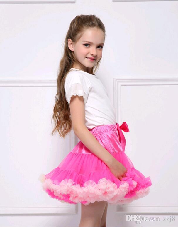 Newborn Baby Tutu Skirts for Girls Mesh Yarn Women Skort Europe Puffy Parent-child Outfit for Halloween party