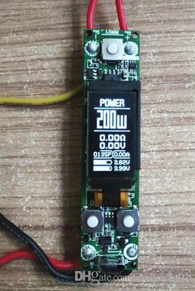 e cig vape circuit board Customized pcb assembly temperature control vape  mod circuit board 133w 160w 188w 200w