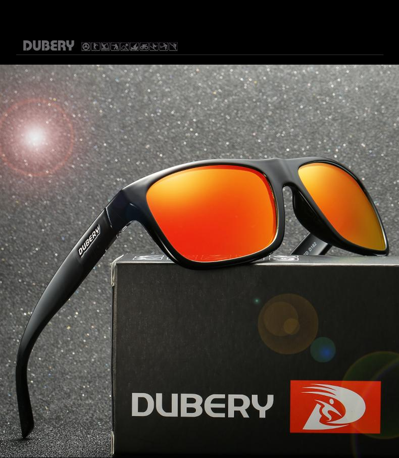 34129380f2 DUBERY Brand Design Polarized HD Sunglasses Men Driving Shades Male ...