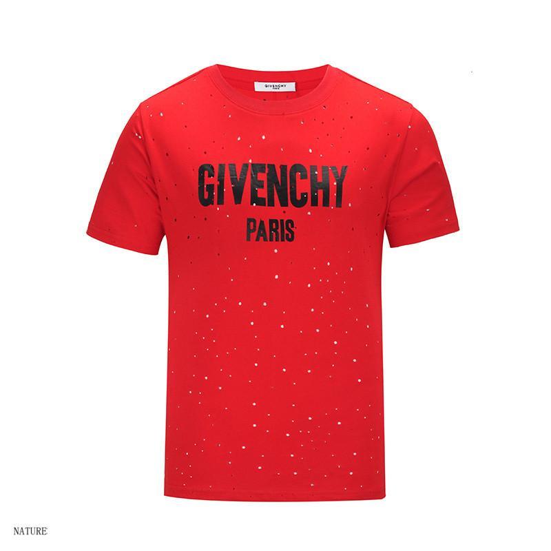 ac1d9d6a2e 2018 Men And Women Short Sleeve Solid Color Tops TeesMen S Shirt Hollow  Designer Summer Tshirt Letter Printed T Shirts M 2XL New Arrivals Vintage T  Shirt ...