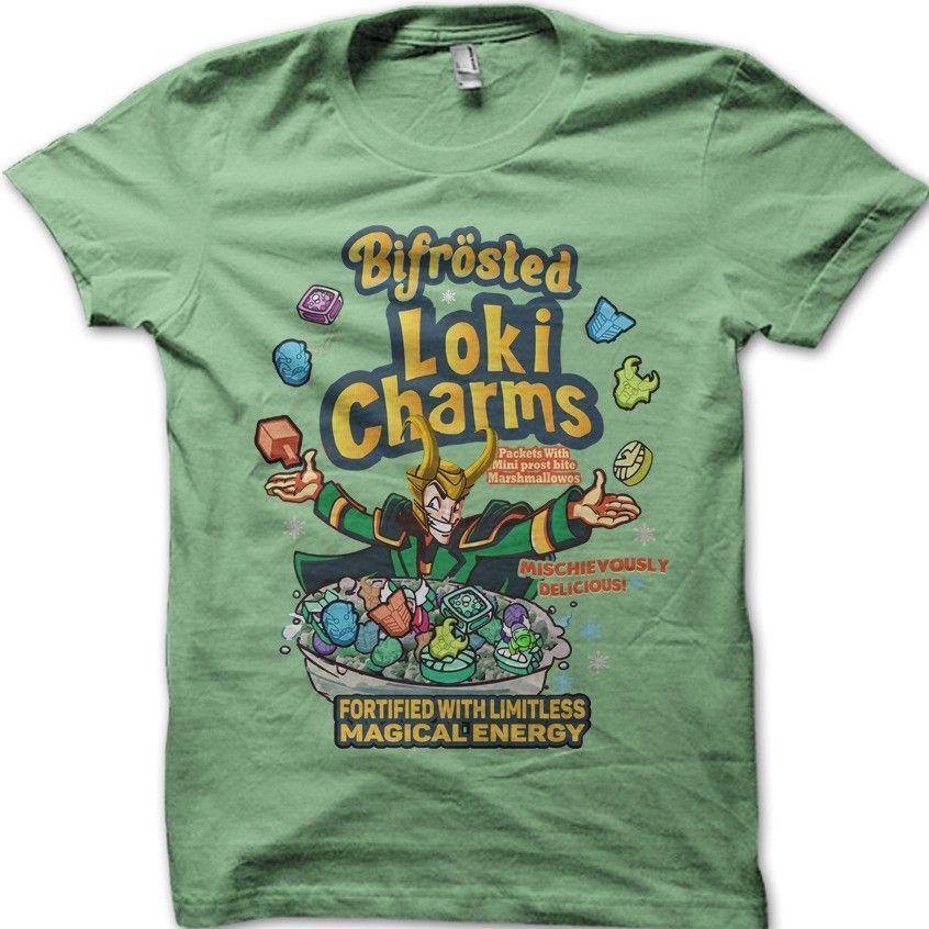 9d169239 LOKI Charms Thor Superhero Antihero Asgard Bifrost Green T Shirt 9804 Funny  Unisex Casual Tee Gift Top Tie Shirts Latest T Shirt Designs From  Revolvertees, ...