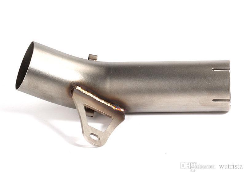 TKOSM Susturucu Egzoz Orta Boru Paslanmaz Çelik İçin BWM S1000RR 2009-2016 S1000R 2014 2015 2016 S1000 R RR