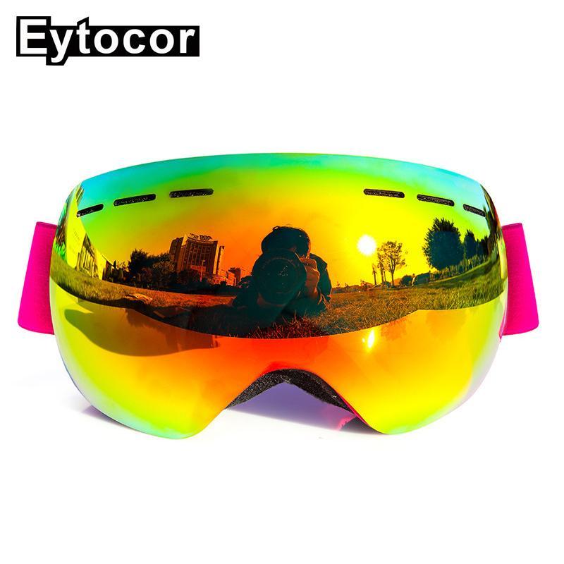 a1bd61ca5486 EYTOCOR New Design UV400 Protection Anti-fog Adult Snowboard Skiing ...